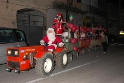 Manifestazione Babbo Natale