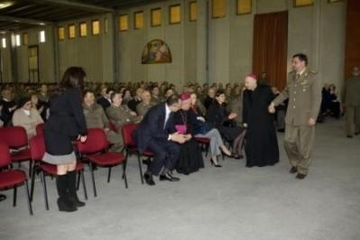 Lectio magistralis di S.E.l Mons.Bruno Forte presso la caserma Salomone