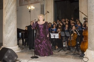 Concerto Katia Ricciarelli Basilica di S.Angelo in Formis