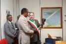 Visita Presidente Eritrea a Oma Sud spa